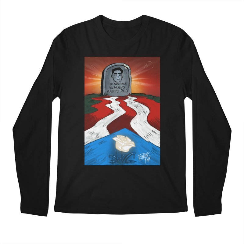EL NUEVO PUERTO RICO Men's Regular Longsleeve T-Shirt by Tripleta Studio Shop