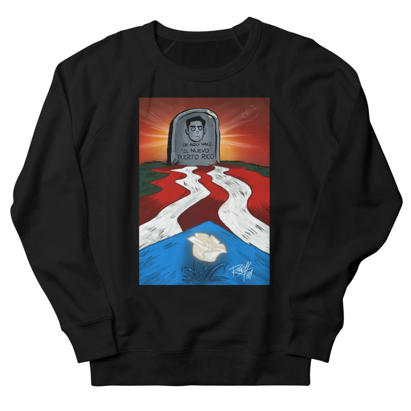 EL NUEVO PUERTO RICO Men's French Terry Sweatshirt by Tripleta Studio Shop