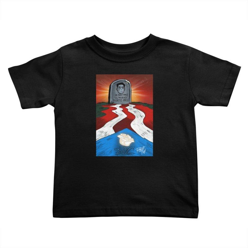 EL NUEVO PUERTO RICO Kids Toddler T-Shirt by Tripleta Studio Shop