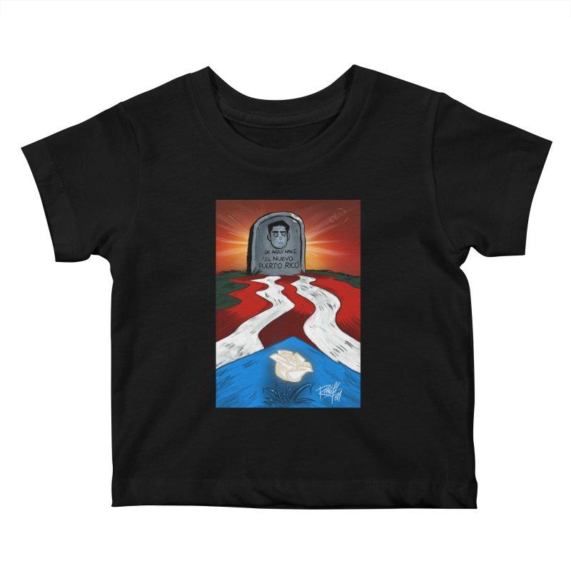 EL NUEVO PUERTO RICO Kids Baby T-Shirt by Tripleta Studio Shop