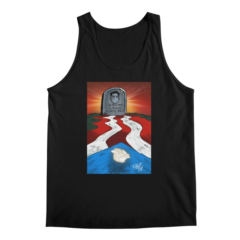 EL NUEVO PUERTO RICO Men's Regular Tank by Tripleta Studio Shop