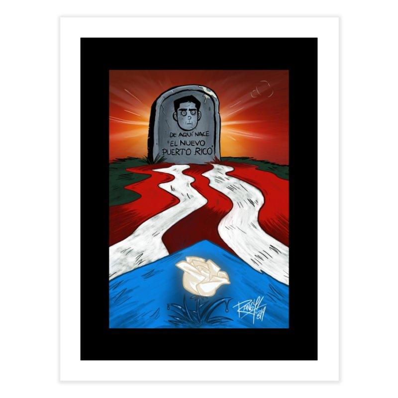 EL NUEVO PUERTO RICO Home Fine Art Print by Tripleta Studio Shop