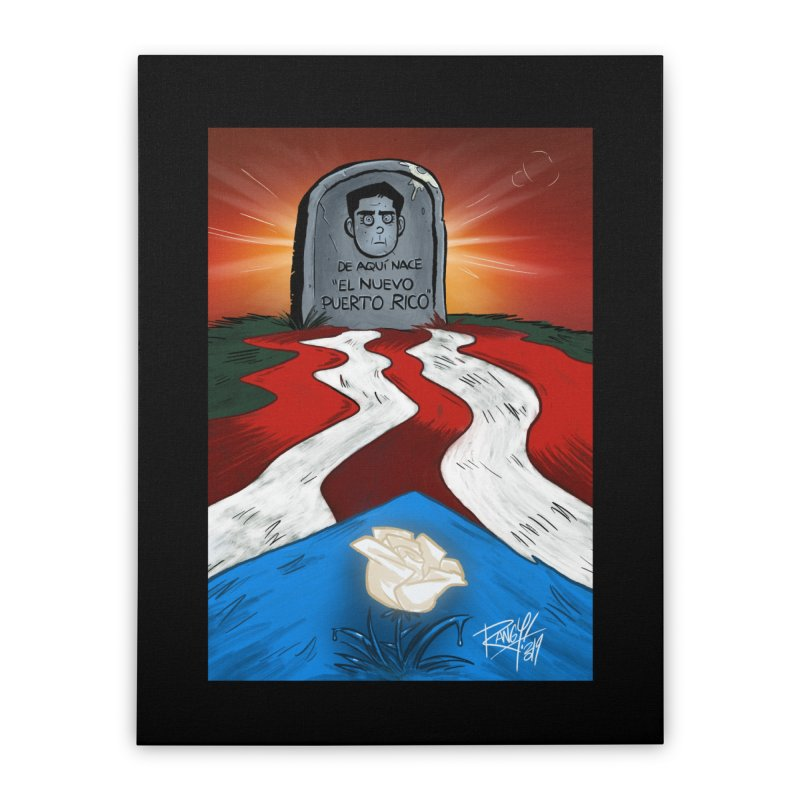 EL NUEVO PUERTO RICO Home Stretched Canvas by Tripleta Studio Shop