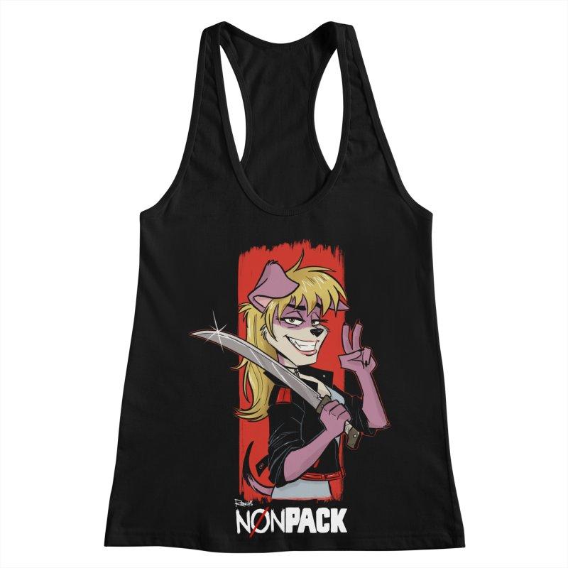 NONPACK KAREN Women's Racerback Tank by Tripleta Studio Shop