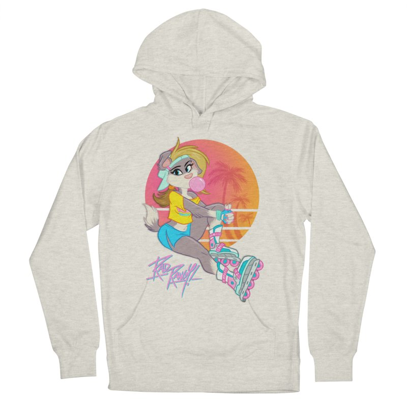 ROLLERPET Women's French Terry Pullover Hoody by Tripleta Studio Shop