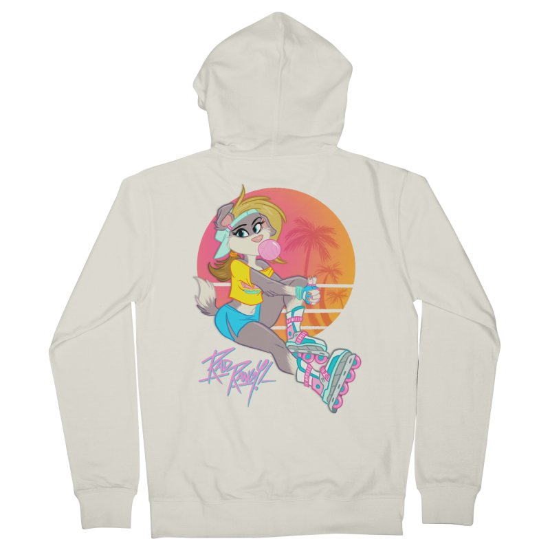 ROLLERPET Women's Zip-Up Hoody by Tripleta Studio Shop