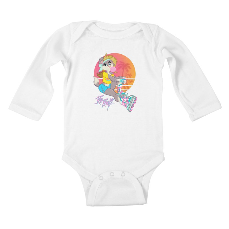 ROLLERPET Kids Baby Longsleeve Bodysuit by Tripleta Studio Shop