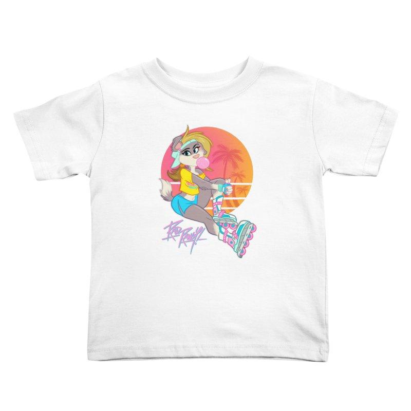 ROLLERPET Kids Toddler T-Shirt by Tripleta Studio Shop