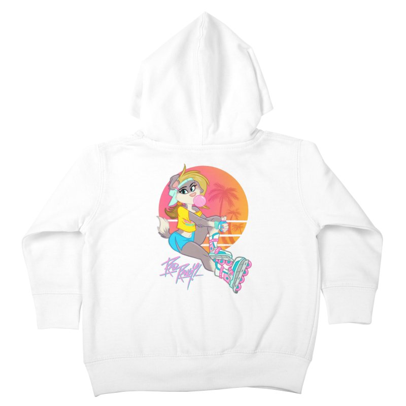 ROLLERPET Kids Toddler Zip-Up Hoody by Tripleta Studio Shop