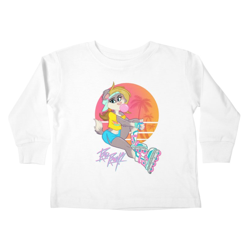 ROLLERPET Kids Toddler Longsleeve T-Shirt by Tripleta Studio Shop