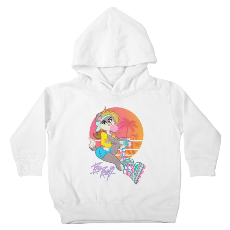 ROLLERPET Kids Toddler Pullover Hoody by Tripleta Studio Shop