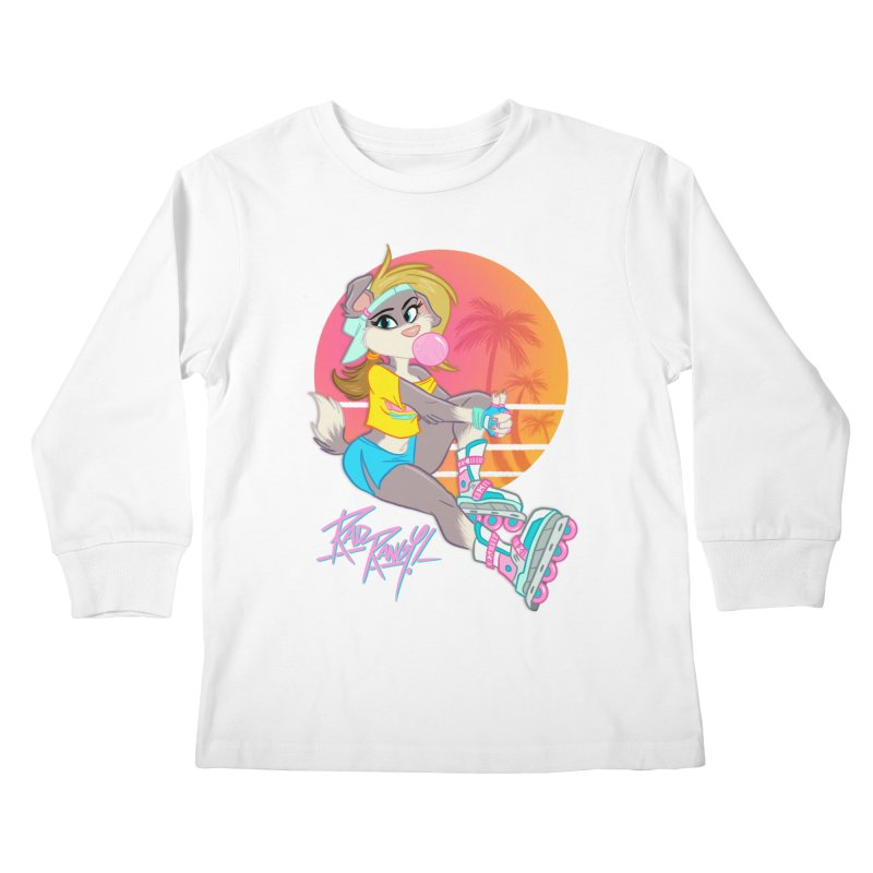 ROLLERPET Kids Longsleeve T-Shirt by Tripleta Studio Shop