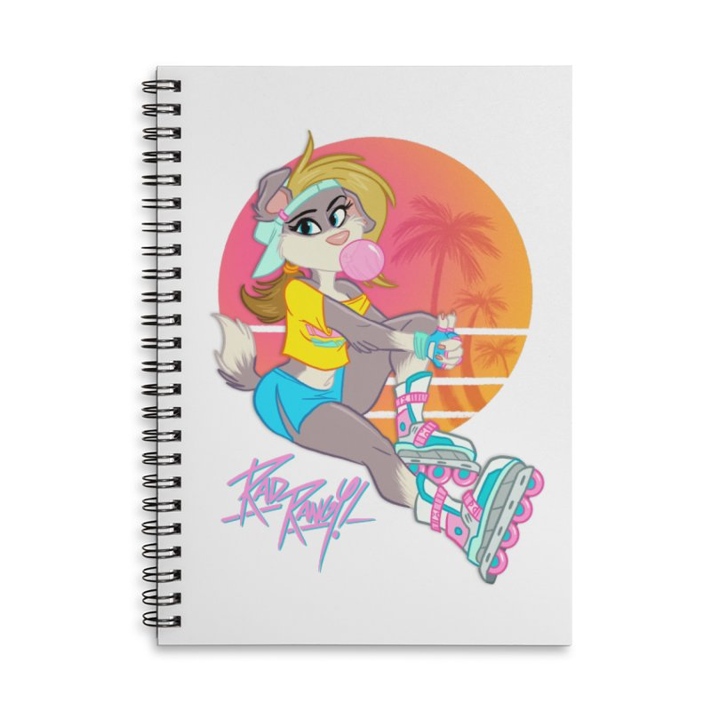 ROLLERPET Accessories Lined Spiral Notebook by Tripleta Studio Shop