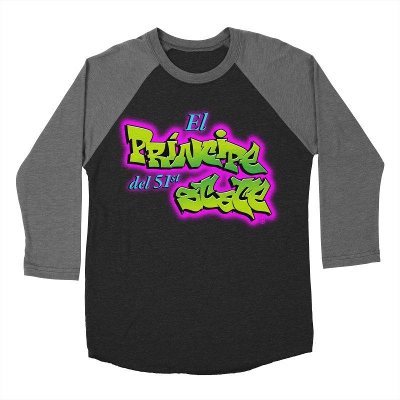 FRESH STATE Men's Baseball Triblend T-Shirt by Tripleta Gourmet Clothing