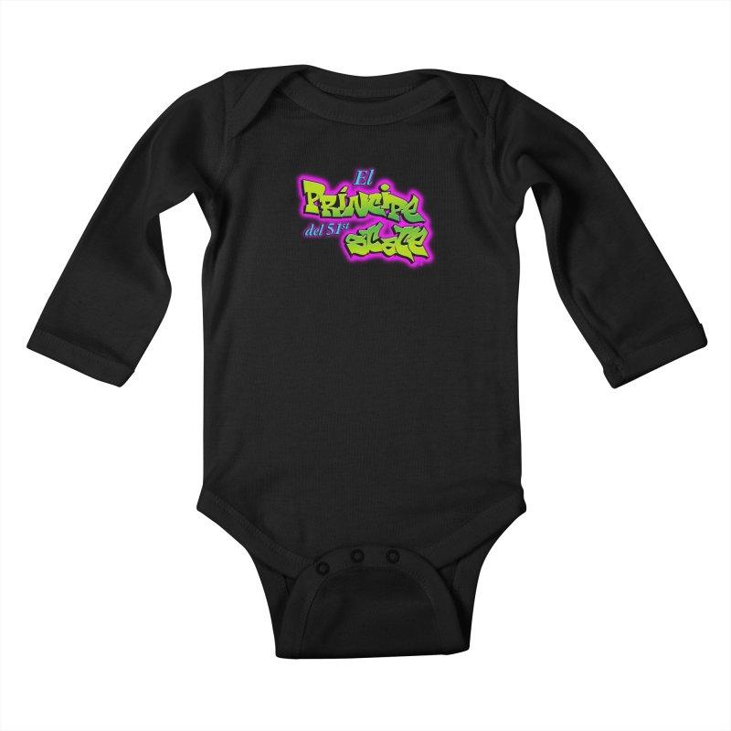 FRESH STATE Kids Baby Longsleeve Bodysuit by Tripleta Gourmet Clothing