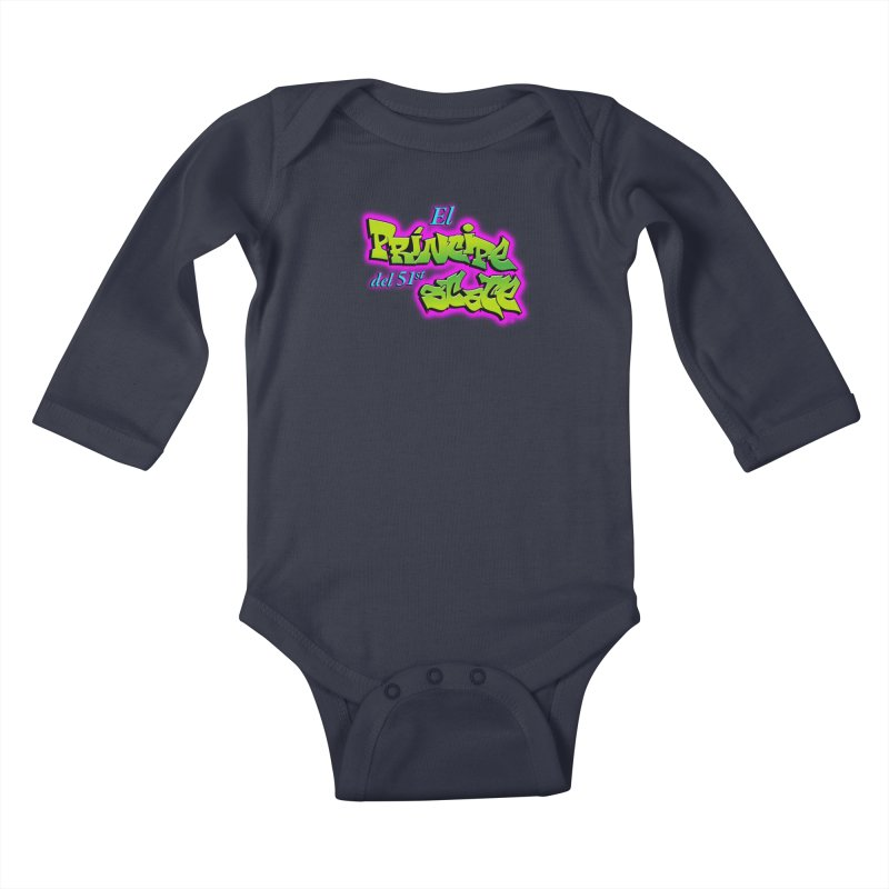 FRESH STATE Kids Baby Longsleeve Bodysuit by Tripleta Gourmet Clothing