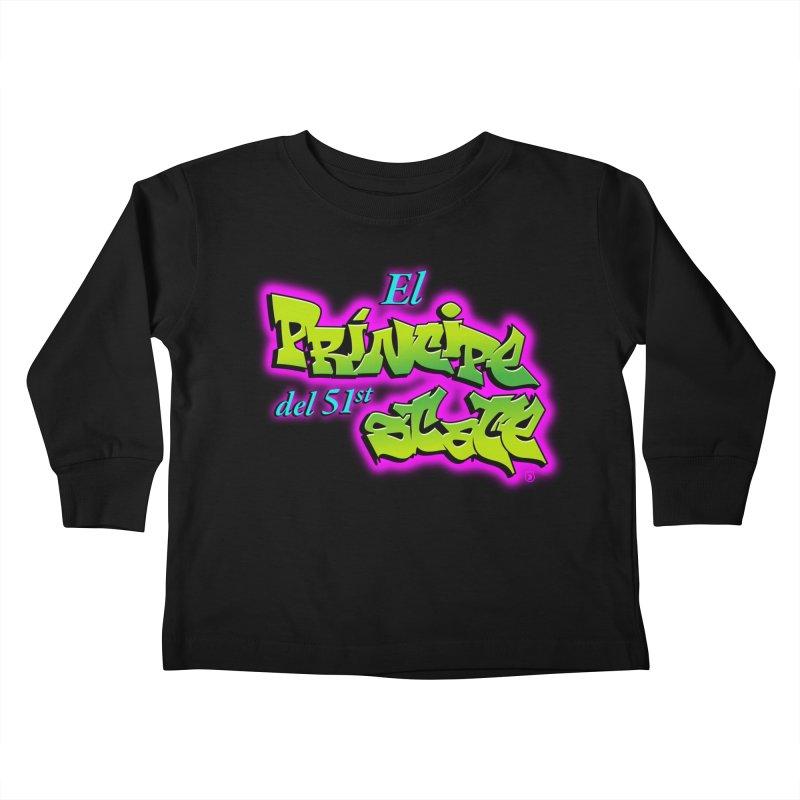 FRESH STATE Kids Toddler Longsleeve T-Shirt by Tripleta Gourmet Clothing