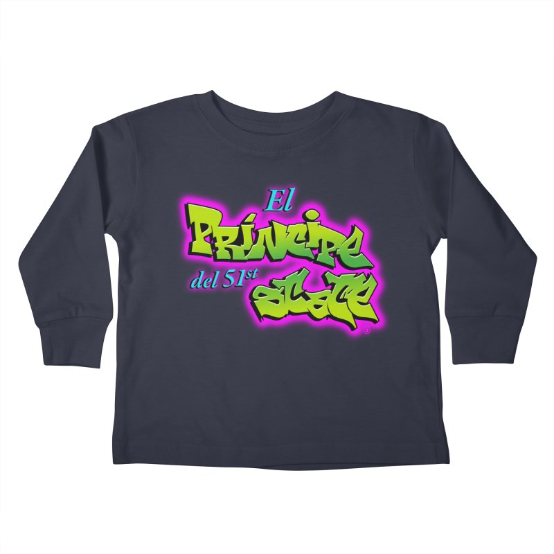 FRESH STATE Kids Toddler Longsleeve T-Shirt by Tripleta Gourmet Clothing