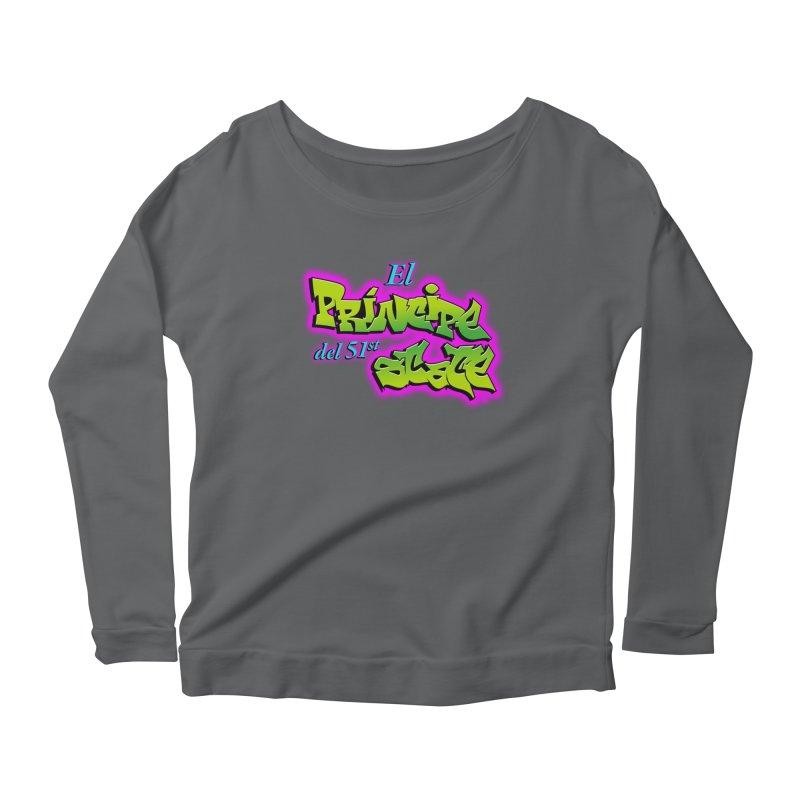 FRESH STATE Women's Longsleeve Scoopneck  by Tripleta Gourmet Clothing
