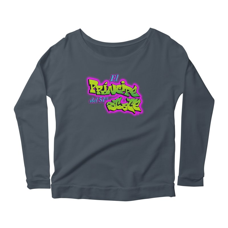 FRESH STATE Women's Longsleeve Scoopneck  by Tripleta Gourmet Clothing