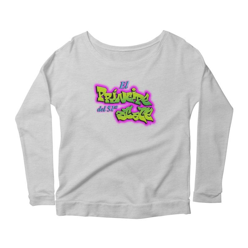 FRESH STATE Women's Scoop Neck Longsleeve T-Shirt by Tripleta Gourmet Clothing