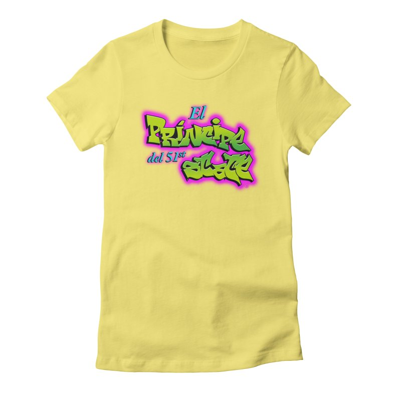 FRESH STATE Women's Fitted T-Shirt by Tripleta Gourmet Clothing