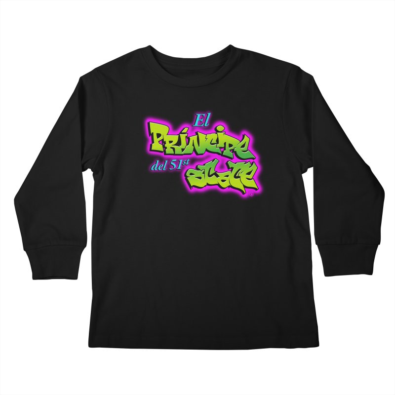 FRESH STATE Kids Longsleeve T-Shirt by Tripleta Gourmet Clothing
