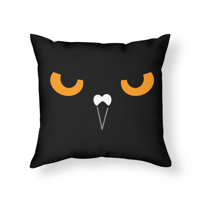 BLACK GOGO Home Throw Pillow by Tripleta Studio Shop