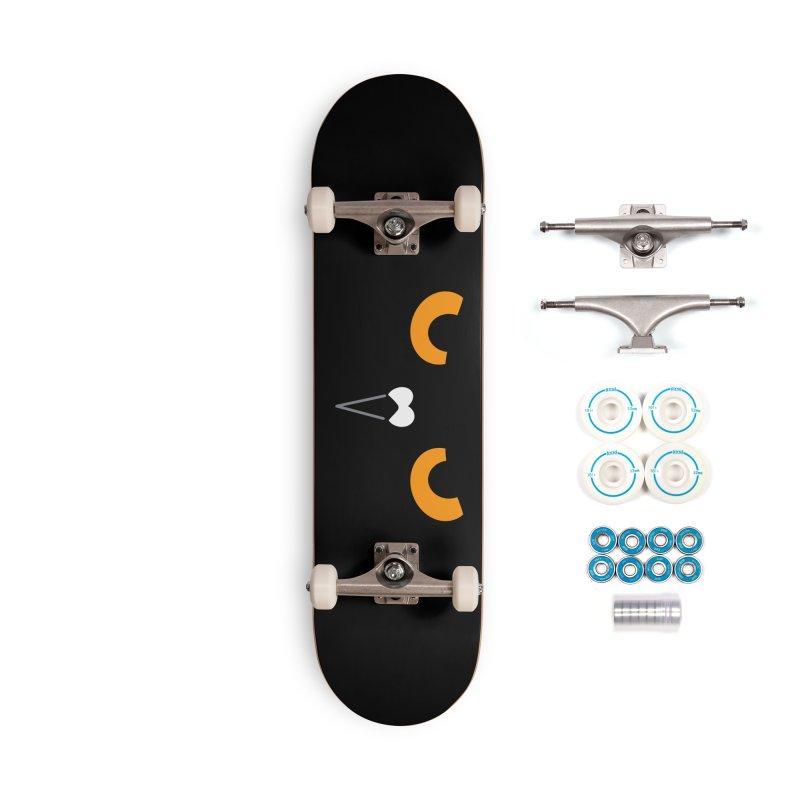 BLACK GOGO Accessories Skateboard by Tripleta Studio Shop