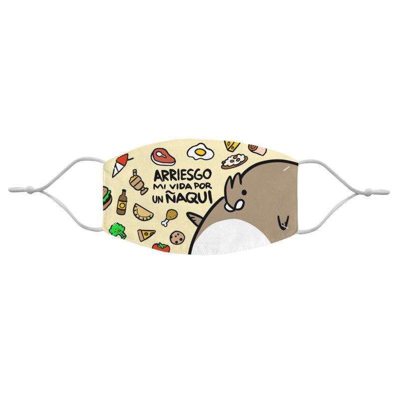 ÑAQUI MASK Accessories Face Mask by Tripleta Studio Shop
