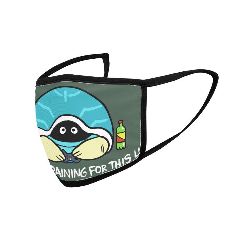 GAMER MASK Accessories Face Mask by Tripleta Studio Shop