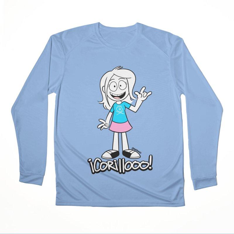RANGY SHOUT OUT Women's Longsleeve T-Shirt by Tripleta Studio Shop