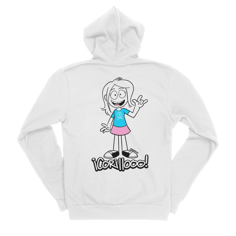RANGY SHOUT OUT Women's Zip-Up Hoody by Tripleta Studio Shop