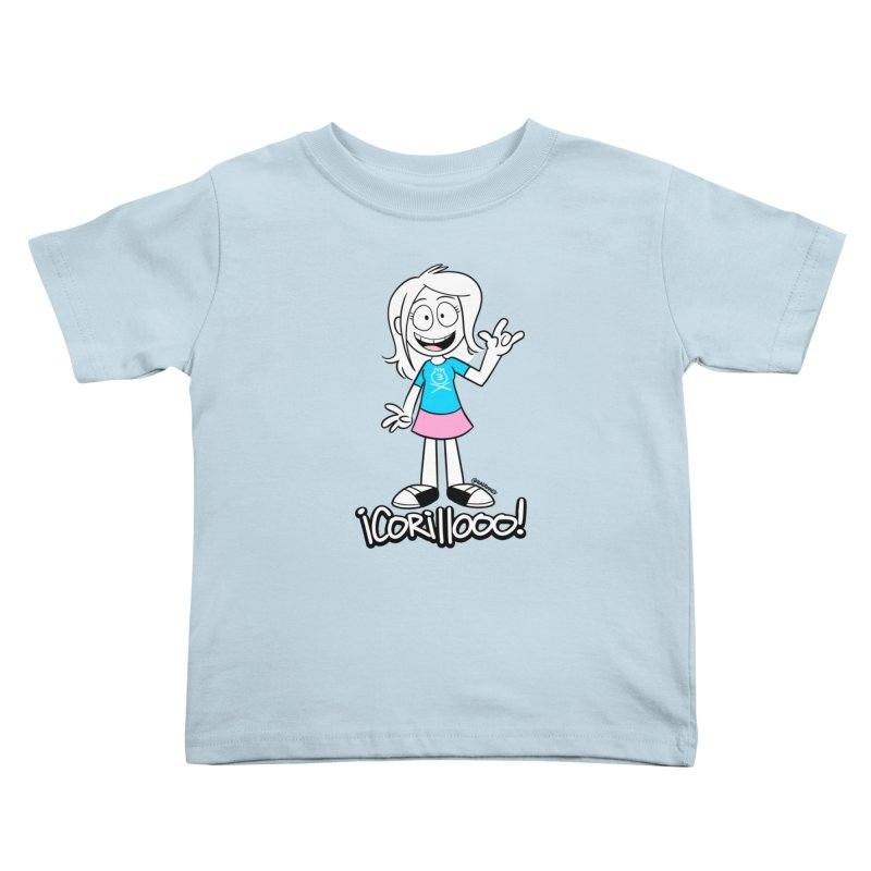 RANGY SHOUT OUT Kids Toddler T-Shirt by Tripleta Studio Shop
