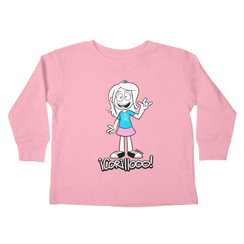 RANGY SHOUT OUT Kids Toddler Longsleeve T-Shirt by Tripleta Studio Shop