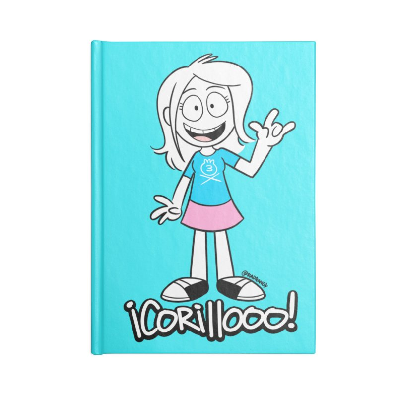 RANGY SHOUT OUT Accessories Notebook by Tripleta Studio Shop