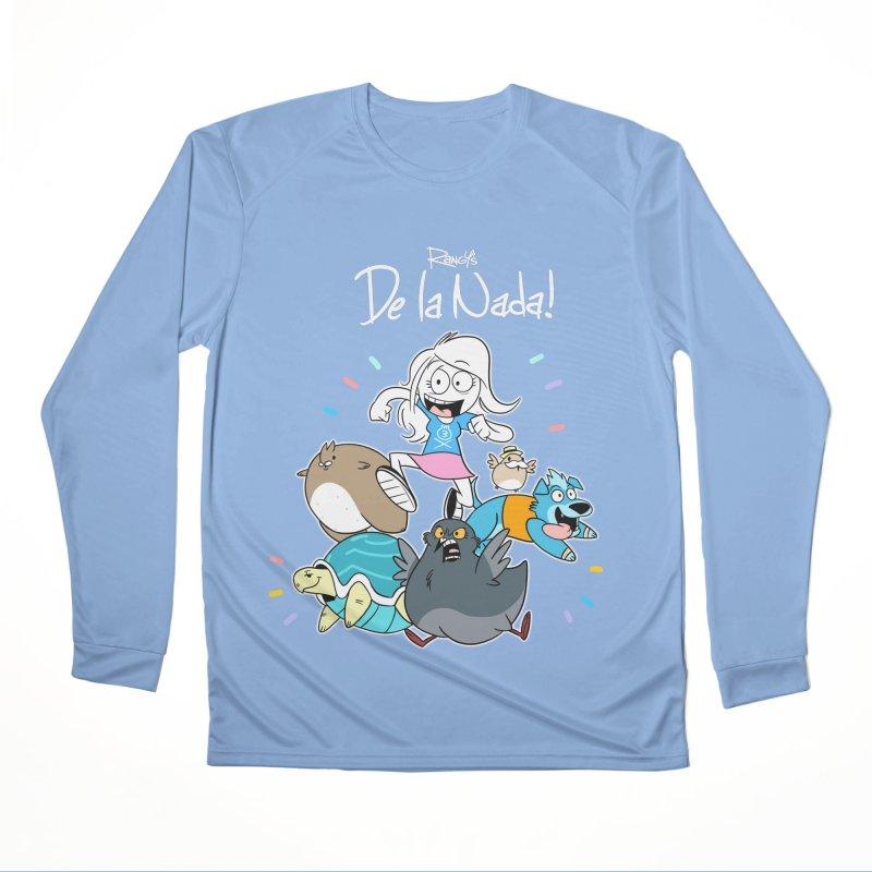 DE LA NADA CORILLO Women's Longsleeve T-Shirt by Tripleta Studio Shop