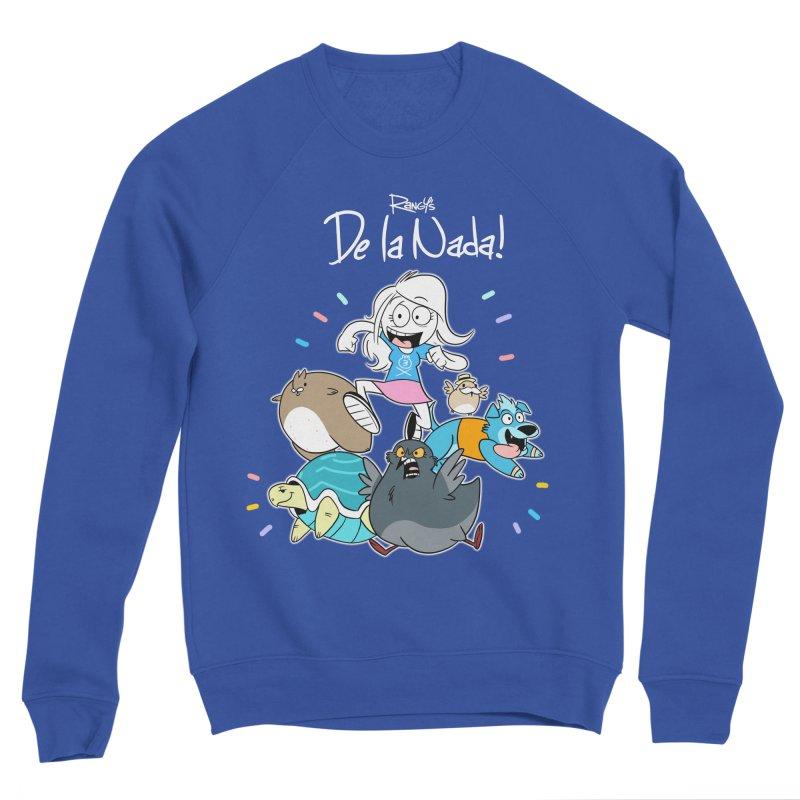 DE LA NADA CORILLO Women's Sweatshirt by Tripleta Studio Shop