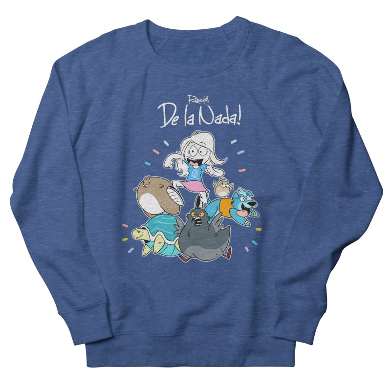 DE LA NADA CORILLO Women's Sweatshirt by Tripleta Studio Shop