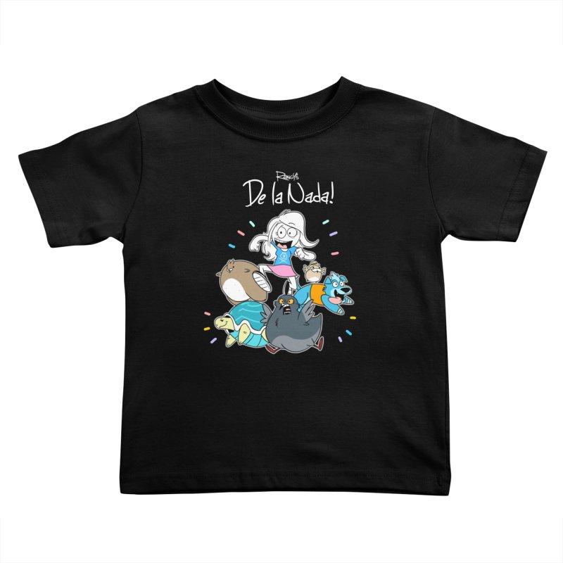 DE LA NADA CORILLO Kids Toddler T-Shirt by Tripleta Studio Shop