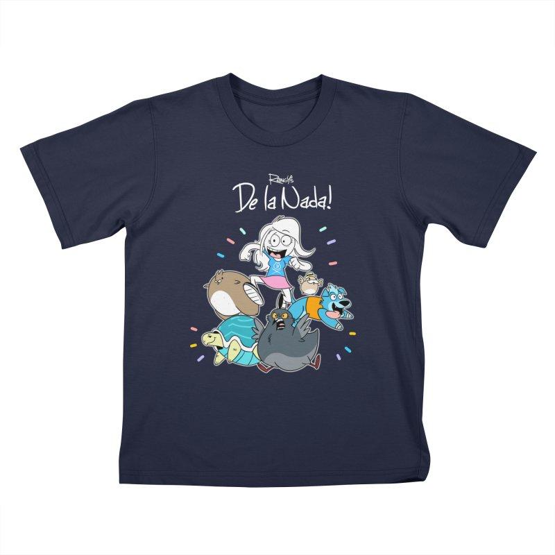 DE LA NADA CORILLO Kids T-Shirt by Tripleta Studio Shop