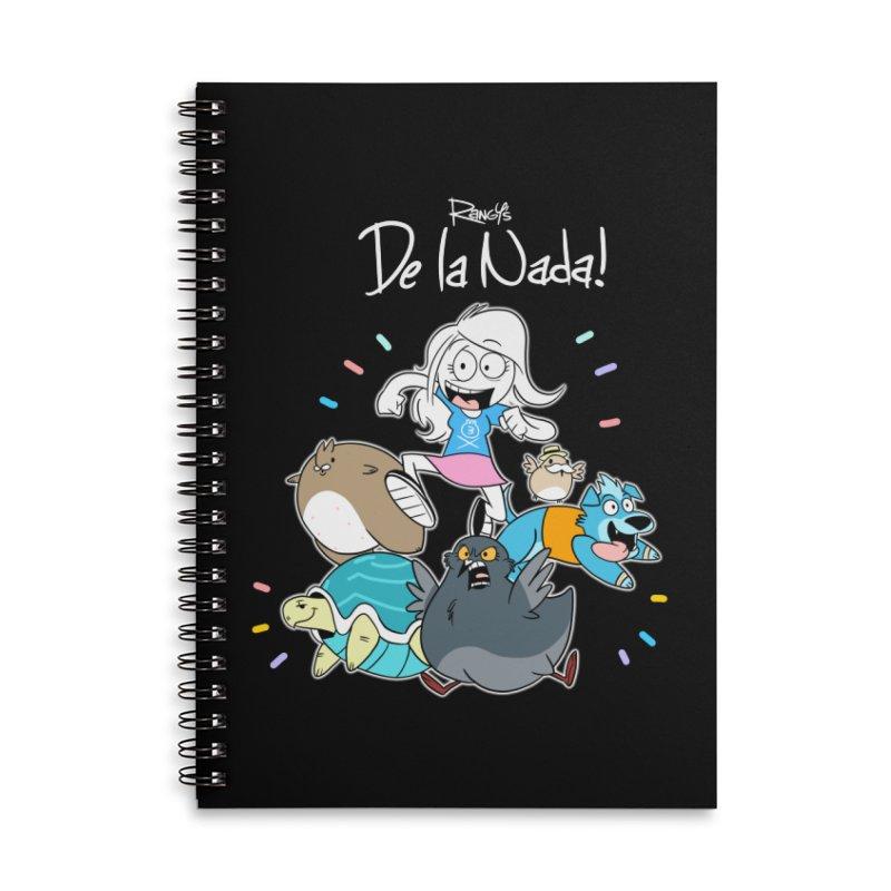 DE LA NADA CORILLO Accessories Notebook by Tripleta Studio Shop