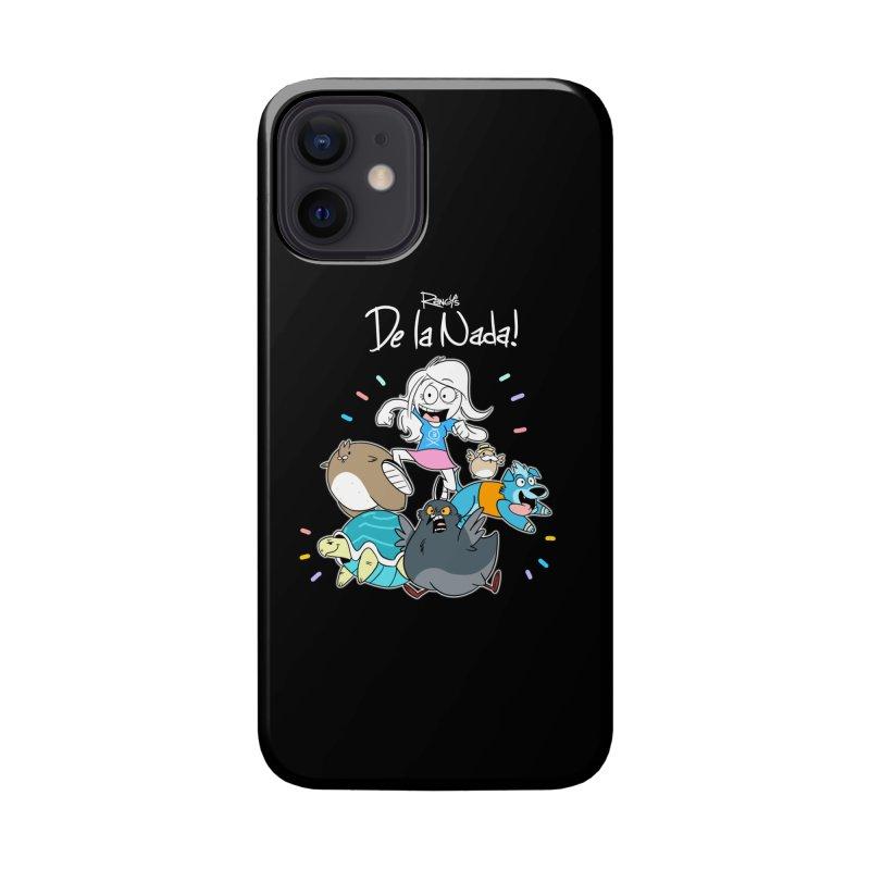 DE LA NADA CORILLO Accessories Phone Case by Tripleta Studio Shop