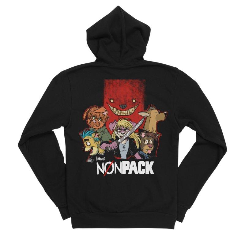 NONPACK SATOS Women's Zip-Up Hoody by Tripleta Studio Shop
