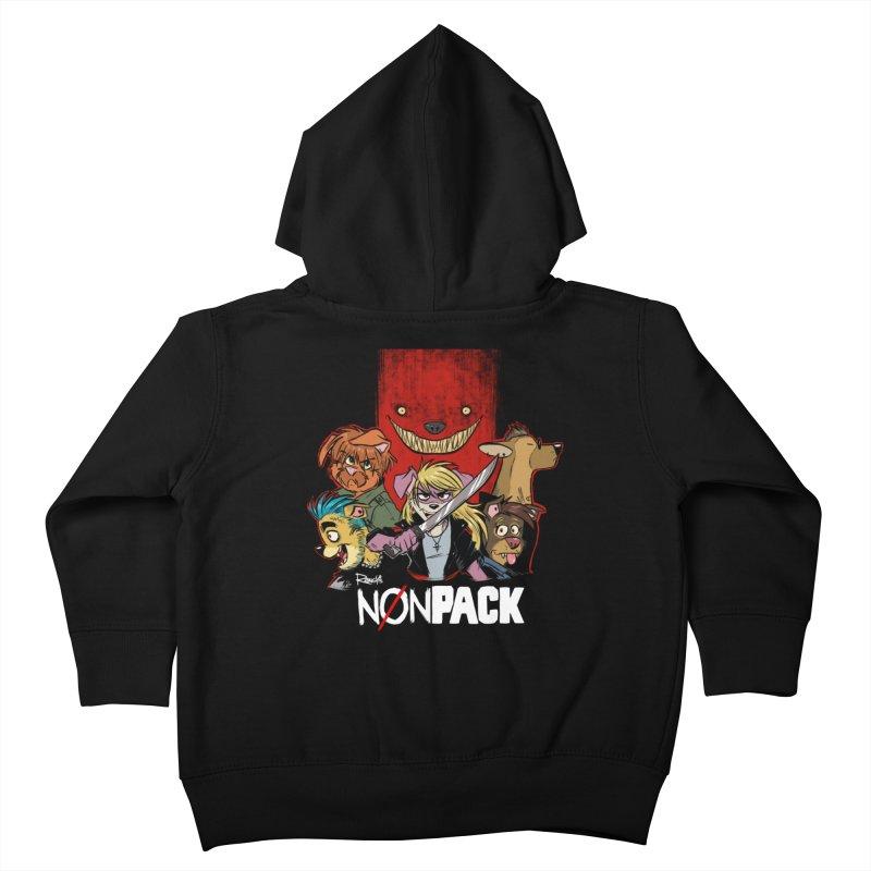 NONPACK SATOS Kids Toddler Zip-Up Hoody by Tripleta Studio Shop
