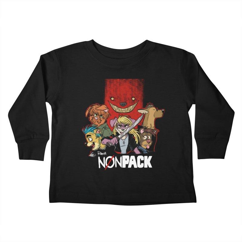 NONPACK SATOS Kids Toddler Longsleeve T-Shirt by Tripleta Studio Shop