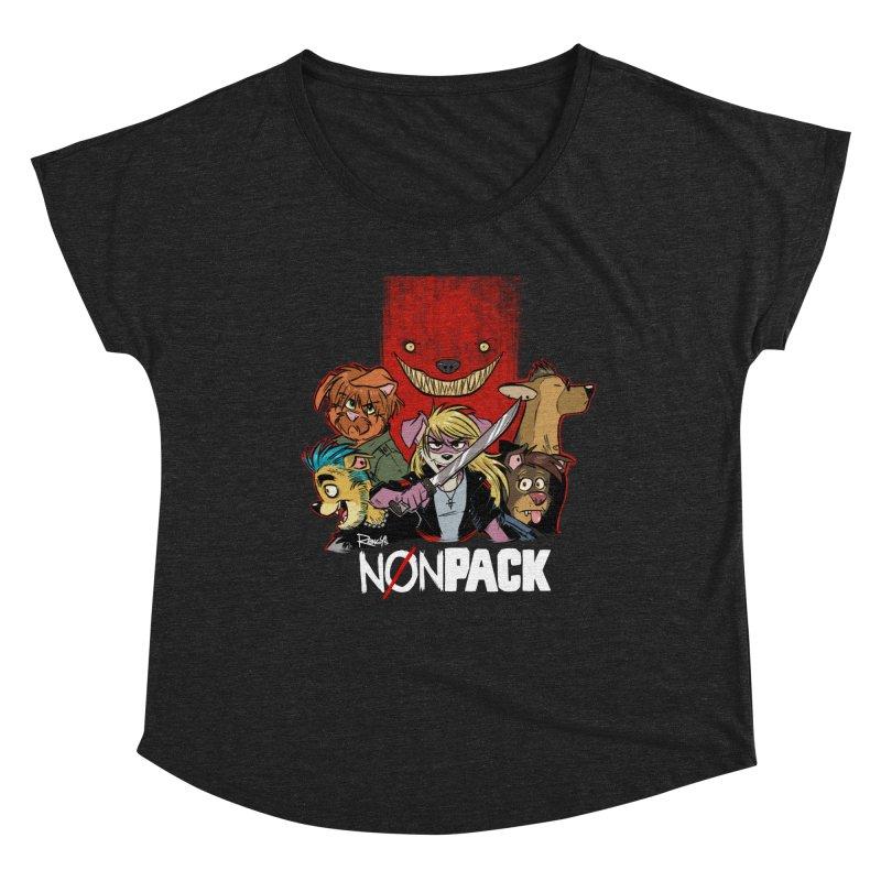 NONPACK SATOS Women's Scoop Neck by Tripleta Studio Shop