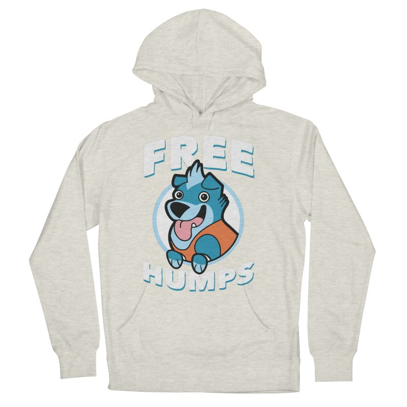 FREE HUMPS Men's Pullover Hoody by Tripleta Gourmet Clothing
