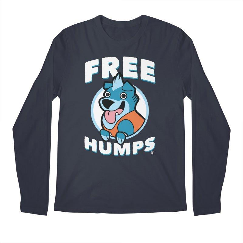 FREE HUMPS Men's Longsleeve T-Shirt by Tripleta Gourmet Clothing