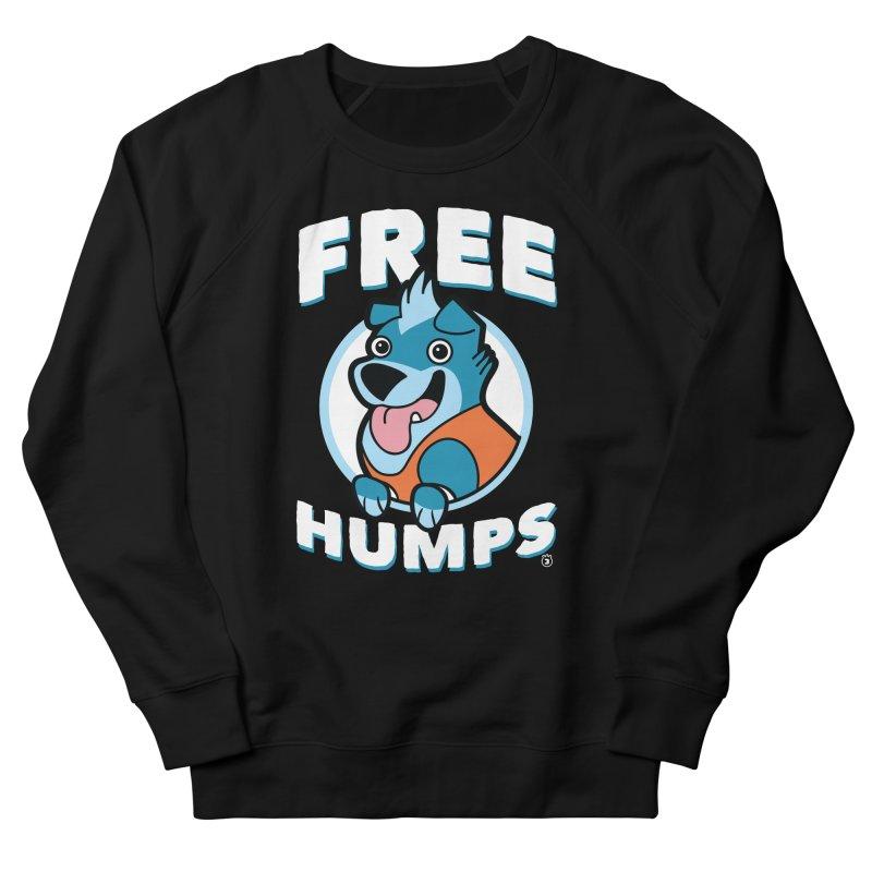 FREE HUMPS Women's Sweatshirt by Tripleta Gourmet Clothing